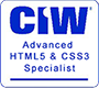 CIW Advanced HTML5 & CSS3 Specialist