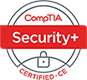 CompTIA Security Plus Certified